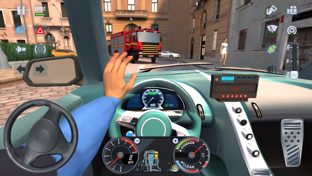 BEST CAR CAB DRIVER 🚖🔥  City Car Driving Games Android iOS - Taxi Sim 2020 Gameplay