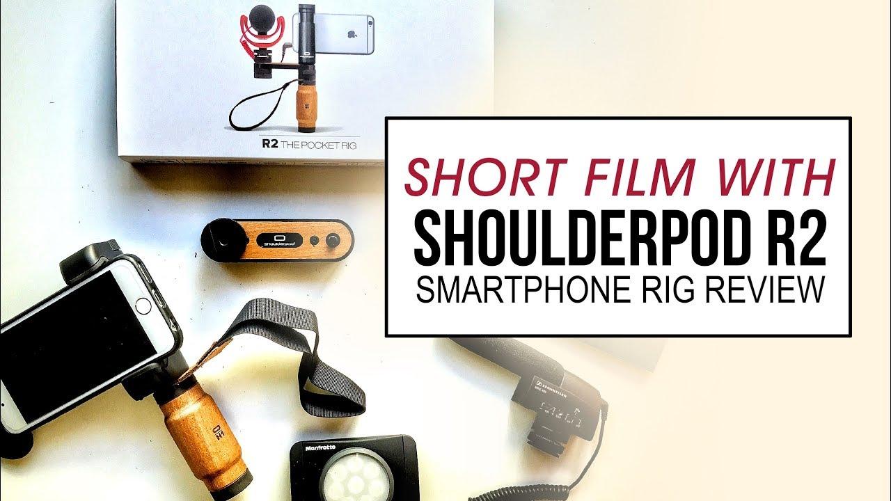 meilleur site web 02757 0c7b8 iPhone Filmmaking - Shoulderpod R2 Review