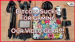 Bitcoin Sucks For Gaming PCs!!! Our Video Gear, Fingbox Home Network Security