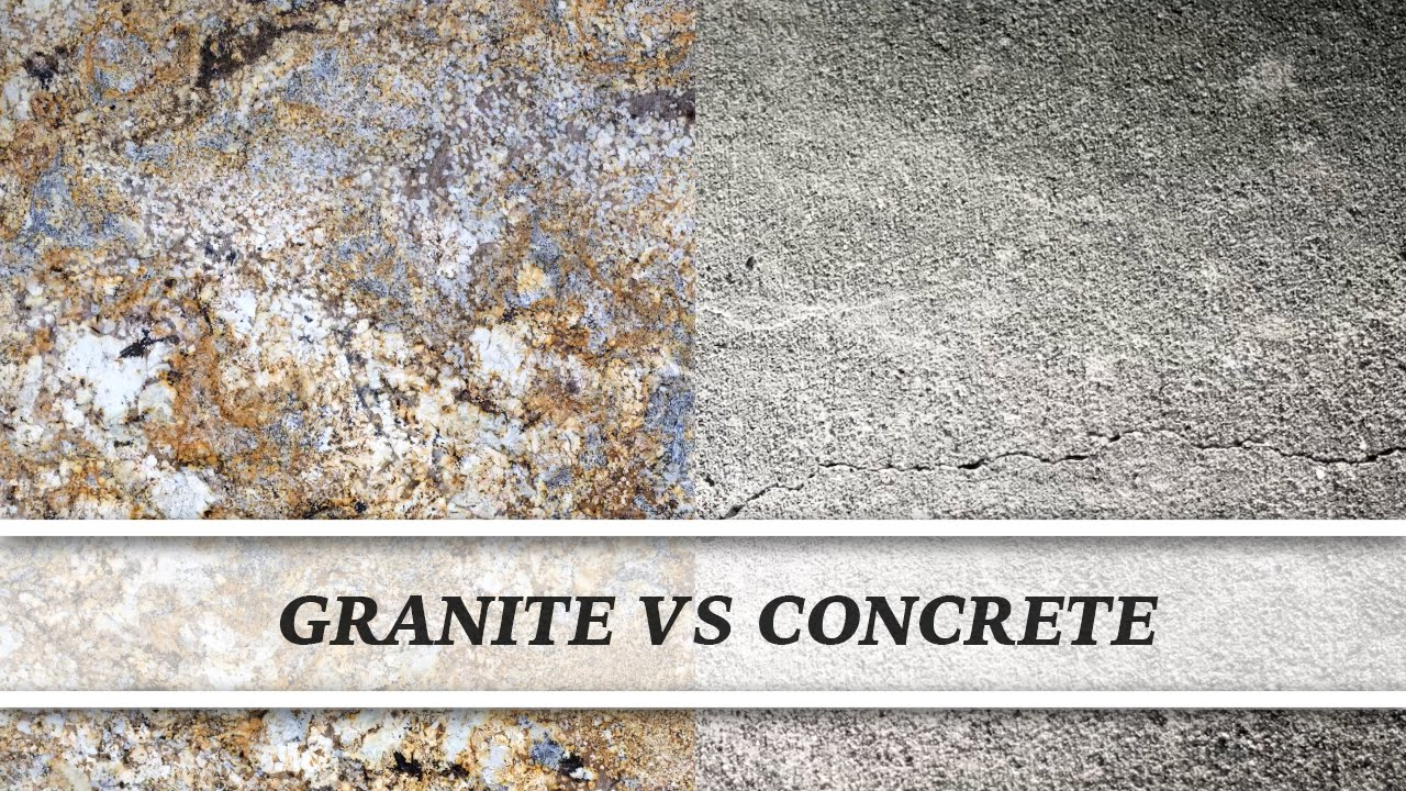 Granite Vs Concrete | Countertop Comparison