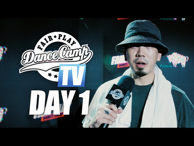 Fair Play Dance Camp 2019  | Day 1 [FAIR PLAY TV]