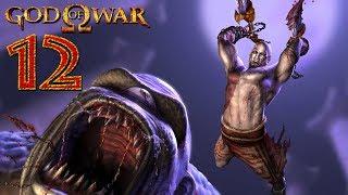 God of War прохождение на геймпаде PS2 версия [4K 60 FPS] часть 12 Скалы Безумия: Ожерелье Геры
