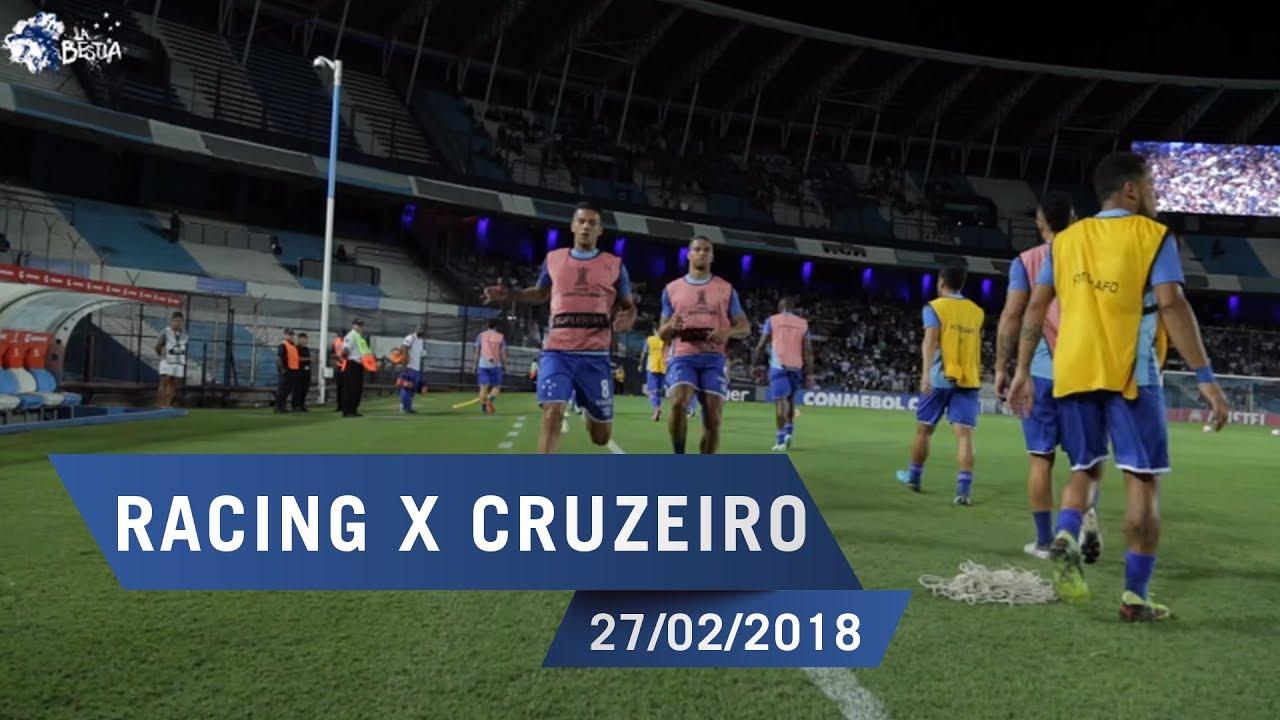 27/02/2018 - Bastidores: Racing x Cruzeiro - YouTube