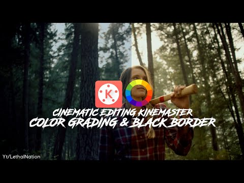 Cinematic Editing Tutorial KineMaster: Color Grading And Dope Look