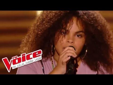 Rihanna - Man Down   Manoah   The Voice France 2017   Blind Audition