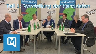 Landratswahl 2020 Freising: TEIL 1 Vorstellung der Kandidaten