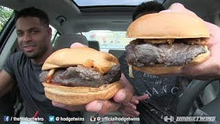 FIRST TIME EATING DEER MEAT ARBYS VENISON SANDWICH @HODGETWINS