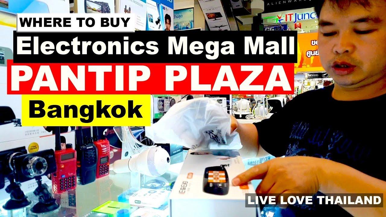 Where to Buy Electronics In Bangkok - Pantip Plaza IT Mega mall #livelovethailand