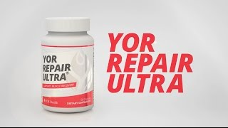 YOR Repair Ultra // The Truth on Muscle Recovery