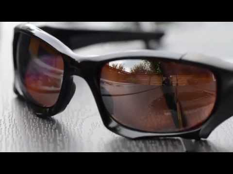 8ca4371867 Oakley Pit Boss II (Close ups) - Polished Black - VR28 Polarized Black  Iridium Lens - YouTube