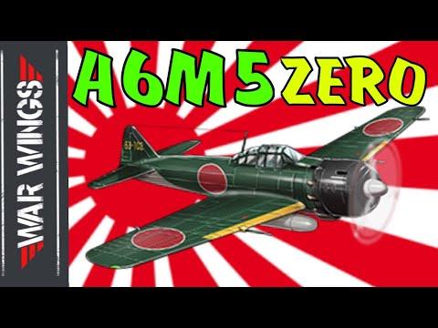 A6M5 Zero War Wings Gameplay