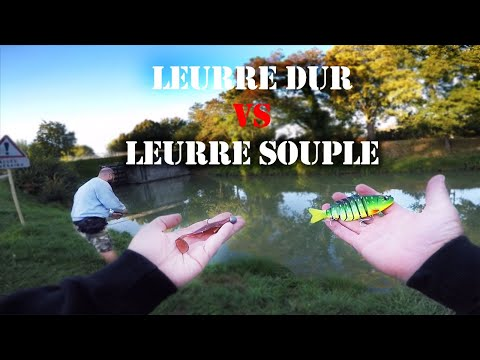 Défi Pêche - Leurre Dur VS Leurre Souple Feat Nebar