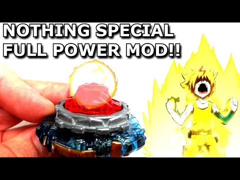 Beyblade MOD: How to Activate NOTHING's DRAIN FAFNIR F3 Special Ability!TEST 8Nt's SECRETベイブレードバースト神