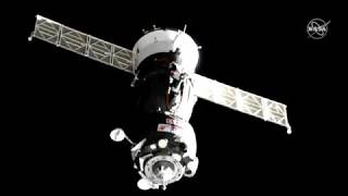 Contact And Capture! Soyuz Abort Crew Finally at Space Station