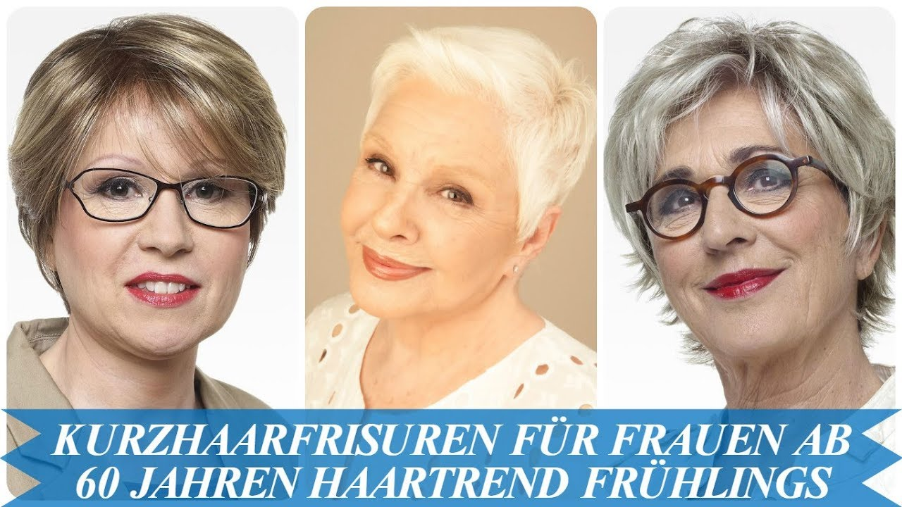Unsere Top 20 Kurzhaarfrisuren Fur Frauen Ab 60 Jahren Haartrend Fruhlings 2018