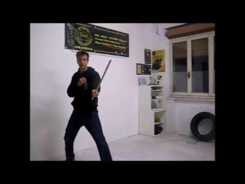 Kali Arnis Escirma. Philippino Martial Art. Change hand. 4° Lesson