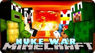 Minecraft Mods - NUKE WARS - Team #1 (Rival Rebels, Nukes, Bombs)