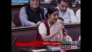 Never made any request to British govt for Lalit Modi's travel documents Sushma