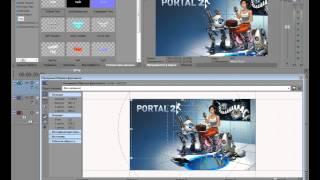 Видео-урок как сделать красивую заставку в Sony Vegas Pro(Если я вам помог подпишись:3 Ссылку выложить не могу , ибо youtube может удалить видео , просто пишем в поисковой..., 2012-12-12T06:57:24.000Z)