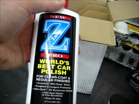 Zaino Ultimate Protection Show Car Kit: Unboxing