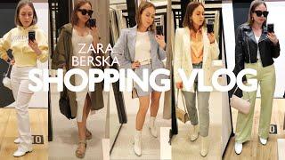 Бюджетный шоппинг влог ZARA BERSHKA 16 Что будет модно весной 2021