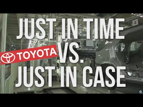 Just in Time by Toyota: The Smartest Production System in The World