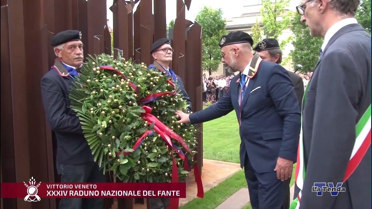 XXXIV Raduno Nazionale Commemorativo del Fante - Inaugurazione monumento