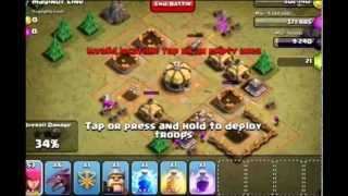 Clash of Clans - Hench Hunters - Maginot Line level 9