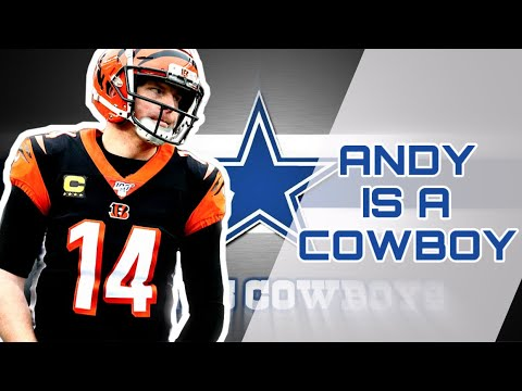 10 things to know about new Cowboys QB Andy Dalton, like his ...