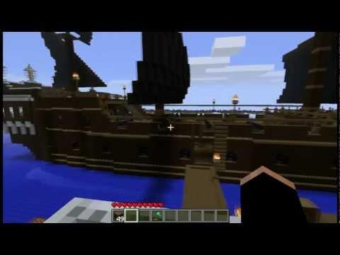 Minecraft: Black Pearl + He's a Pirate (PotC)