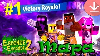 💎 FORTNITE! -Map Minecraft/Hide and seek 2-Tazercraft [Download]