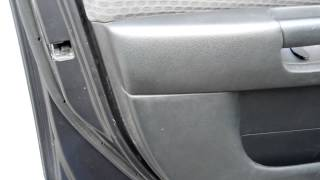 how to remove door skin pannel and install or replace speakers mazda 3 2006