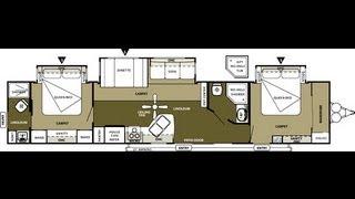 2013 Wildwood DLX 4002Q 2 Bedroom 2 Bathroom 43' Travel Trailer