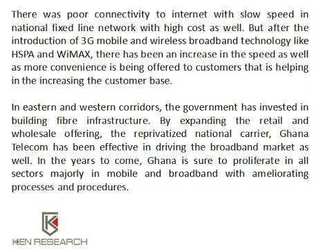 Ghana Mobile Phone Subscribers Market, Ghana Upcoming Internet Service Providers - Ken Research