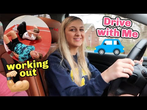 Drive With Me Chit Chat & Working Out!!