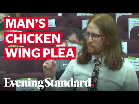 Man makes passionate speech about renaming 'boneless chicken