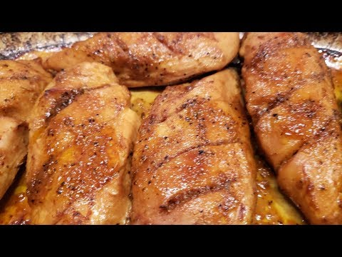 Baked BBQ Chicken Breast - Laila's Home Cooking - Episode 76