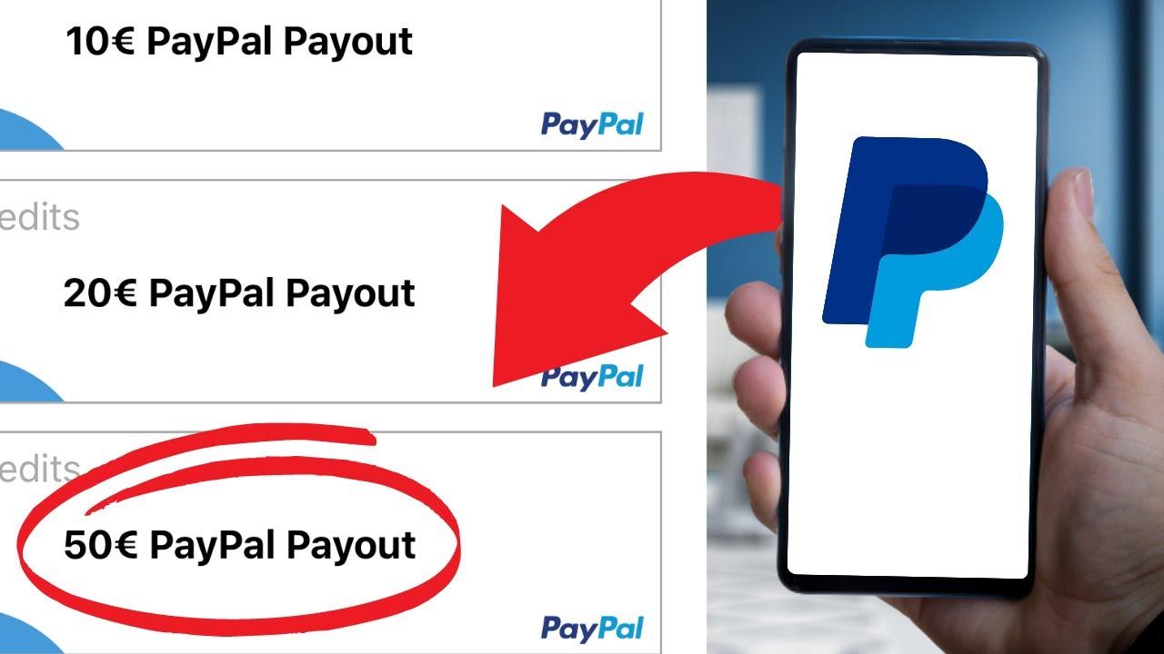 geld verdienen app paypal