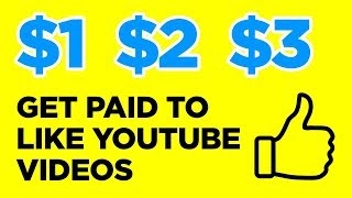 GET PAID TO LIKE YOUTUBE VIDEOS AND MORE