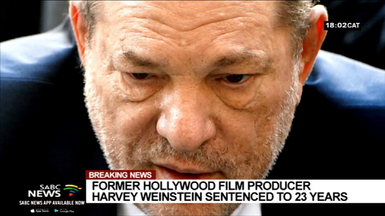 Harvey Weinstein Prison Sentence Celebrated By Women In ...