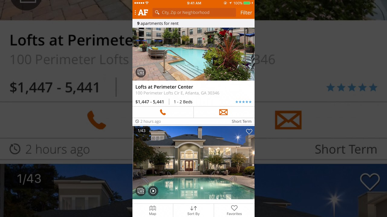 Apartment Finder App  Search And Find Apartments Near You!
