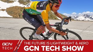 Gambar cover Why Lightweight Aero Bikes Are The Future | GCN Tech Show Ep. 79