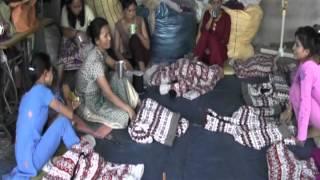 Knitting the finest jackets in the world in Kathmandu Nepal