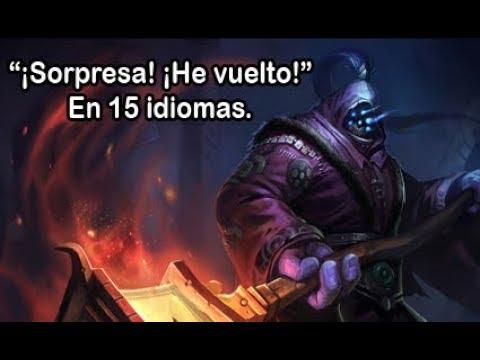 """""""Sorpresa, He Vuelto"""" De Jax En 15 Idiomas."""