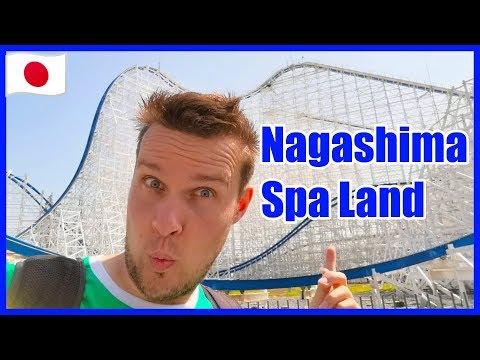 Japans Achterbahn Park - Nagashima Spa Land - Weltlängste Achterbahn