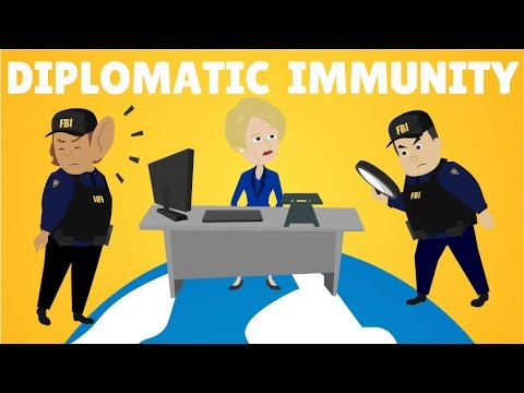 Diplomatic Immunity Explained, International Law Animation