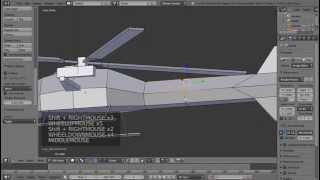 video tutorial cara membuat modeling helicopter
