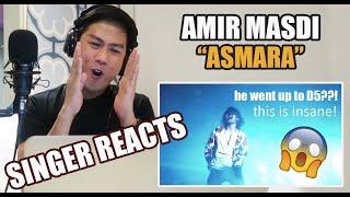 AMIR MASDI - Asmara [Official Music Video]   REACTION