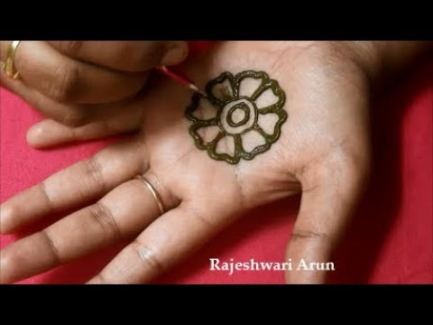 Latest Easy Mehndi Design For Hands 2018 Simple New Henna Mehndi