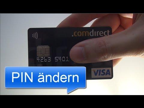 Visa Karte Comdirect.Pin ändern Comdirect Visa Card